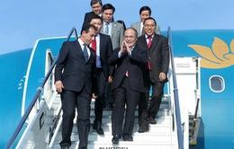 CTQH Nguyễn Sinh Hùng thăm chính thức Cộng hòa Italy