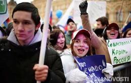 Việt Nam quan tâm theo dõi chặt chẽ tình hình tại Ukraine và Crimea