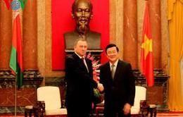 Chủ tịch nước tiếp Bộ trưởng Ngoại giao Belarus