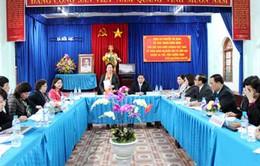 Phó Chủ tịch nước Nguyễn Thị Doan làm việc tại Quảng Ninh