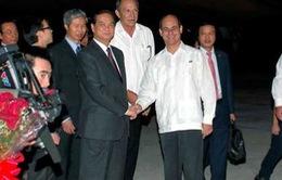 Thủ tướng Nguyễn Tấn Dũng thăm chính thức Cuba
