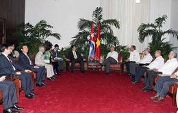 Thủ tướng hội kiến lãnh đạo cấp cao Cuba