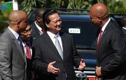 Tuyên bố chung Việt Nam - Haiti