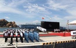 Hoàn tất chuẩn bị Lễ thượng cờ quốc gia cho 2 tàu ngầm