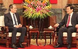 Chủ tịch nước tiếp Thủ tướng Bulgaria