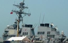 Tàu hải quân Hoa Kỳ thăm hữu nghị Đà Nẵng