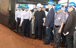 Triển khai dự án sản xuất thép từ bùn đỏ