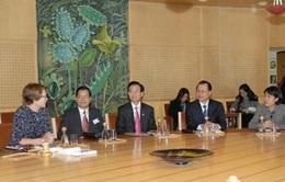 Phó Thủ tướng Vũ Văn Ninh thăm và làm việc tại Thụy Điển