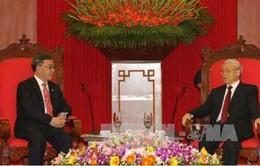 Tổng Bí thư, Chủ tịch nước tiếp Bí thư tỉnh Quảng Đông