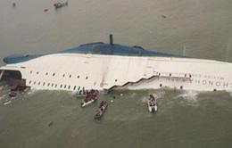Hải quân Hàn Quốc hơn 10 lần tìm cách vào khoang trong của tàu chìm Sewol