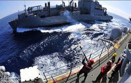 Hải quân châu Á - TBD thỏa thuận tăng cường thông tin trên biển