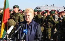 """Binh sĩ Mỹ """"đổ bộ"""" Litva tập trận chung với NATO"""