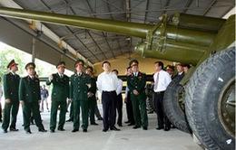 Chủ tịch nước thăm và làm việc tại Quân khu 7