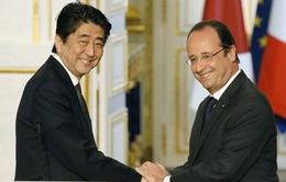 Nhật - Pháp thỏa thuận hợp tác an ninh, quốc phòng