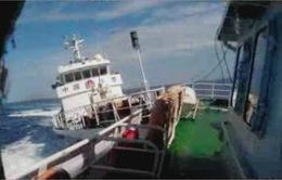 Gấp rút sửa chữa tàu Cảnh sát biển bị Trung Quốc tấn công