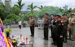 Đoàn Tùy viên quân sự các nước thăm tỉnh Điện Biên