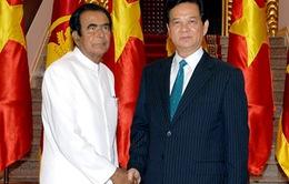 Sri Lanka ủng hộ lập trường của Việt Nam về vấn đề Biển Đông