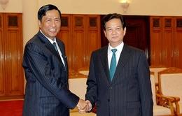 Thủ tướng tiếp Bộ trưởng Bộ Công nghiệp Myanmar