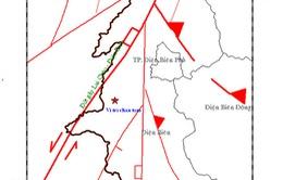 Động đất mạnh 3,9 độ Richter tại tỉnh Điện Biên