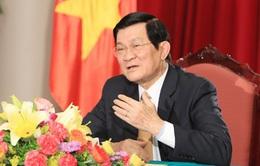 Chủ tịch nước tiếp Đại sứ các nước trình Quốc thư
