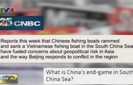 Tin tức nổi bật trên các báo quốc tế về tình hình Biển Đông