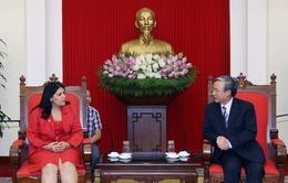 Đoàn Thanh niên Cộng sản Cuba thăm Việt Nam