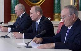Liên minh kinh tế Á - Âu chính thức thành lập