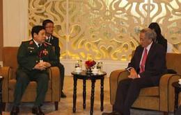 Việt Nam tiếp xúc trưởng đoàn Trung Quốc và Nga bên lề Đối thoại Shangri-La 2014