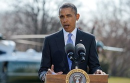 Tổng thống Obama bắt đầu công du châu Âu 5 ngày