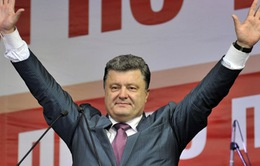 Tỷ phú Poroshenko đắc cử Tổng thống Ukraine