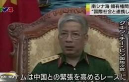 Thứ trưởng Bộ Quốc phòng Việt Nam trả lời phỏng vấn Đài NHK về tình hình Biển Đông