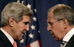 Ngoại trưởng Nga - Mỹ thảo luận tình hình Ukraine ở Paris