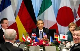 Hội nghị thượng đỉnh G7 ra tuyên bố chung về Biển Đông