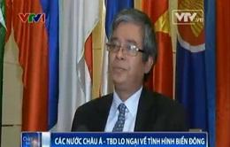 SOM ARF: Vấn đề Biển Đông được các nước đặc biệt quan tâm