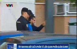 Tây Ban Nha bắt 8 phần tử liên quan phiến quân Sunni