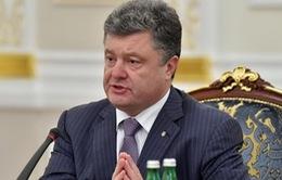 Tổng thống Ukraine khẳng định sẽ ký thỏa thuận liên kết với EU