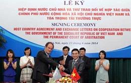 Việt Nam ký Hiệp định với Tòa trọng tài thường trực