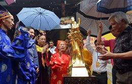 Đúc 60 tượng mạ vàng Thánh Gióng chào mừng Giải phóng Thủ đô