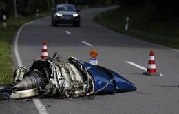 Đức: Chiến đấu cơ va chạm máy bay dân sự
