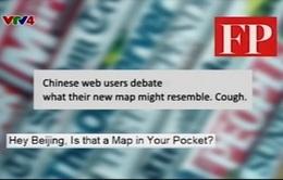 Báo quốc tế mỉa mai tấm bản đồ mới của Trung Quốc