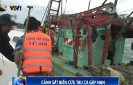Cảnh sát Biển Vùng 4 cứu tàu bị nạn