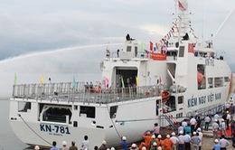 Bàn giao tàu KN-781 cho lực lượng Kiểm ngư Việt Nam