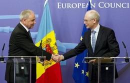 Quốc hội Moldova phê chuẩn Hiệp định liên kết với EU