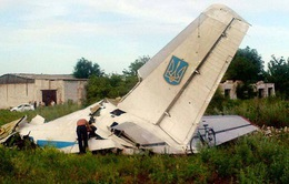 Máy bay của quân đội Ukraine bị bắn hạ
