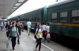 Tàu khách Hà Nội-Hải Phòng tạm thời không vào ga Hà Nội