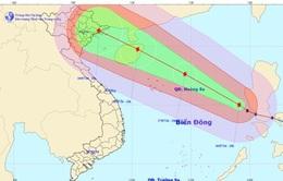 Cập nhật tin bão trên Biển Đông (cơn bão số 2)