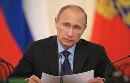 Tổng thống Putin: Lệnh trừng phạt khiến quan hệ Nga - Mỹ bế tắc