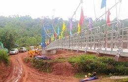 Đẩy nhanh tiến độ xây dựng các dự án cầu treo