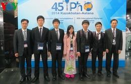 Việt Nam giành 3 huy chương Vàng, 2 huy chương Bạc Olympic Vật lý