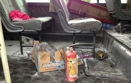 Cháy xe khách trong hầm Hải Vân, 95 hành khách thoát nạn